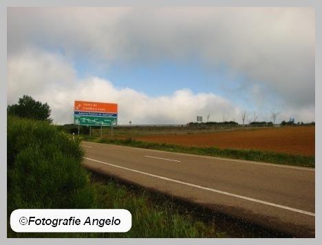 routebord Santiago
